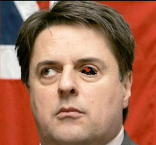 Nick Griffin's Eye